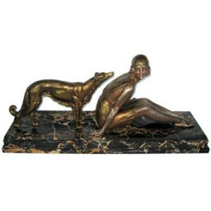 Art Deco bronze figure by Demetre Chiparus