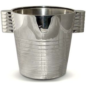Art Deco ice bucket by Luc Lanel for Elkington (gm404)