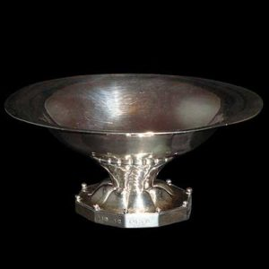 Art Deco silver comport by Georg Jensen (gm126)