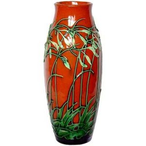 Art Nouveau glazed earthenware vase by Max Laeuger