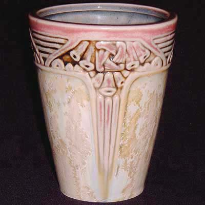 Art Nouveau stoneware vase by Louis Majorelle for Gres Mougin
