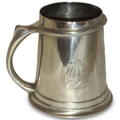 Arts & Crafts Tudric pewter mug for Liberty & Co, England c1902 (gm500)