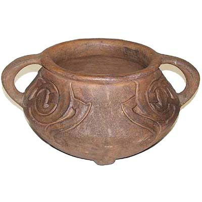 Arts & Crafts terracotta planter by Archibald Knox for Liberty & Co