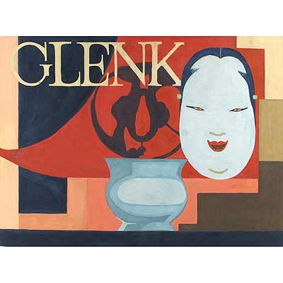 Glenk   Art Deco gouache of an oriental gentleman  by Dodo Burgner (gm168)