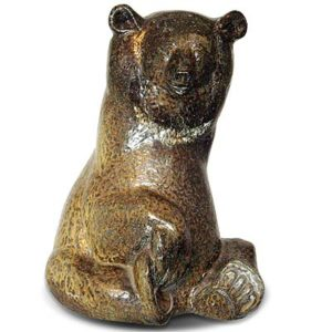 Large seated bear by Lillemore Mannerheim for Rorstrand (gm499)