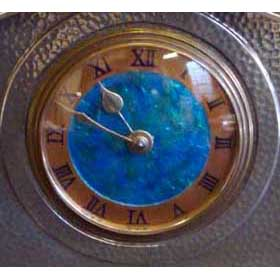 Liberty & Co Tudric pewter Arts & Crafts clock (m532)