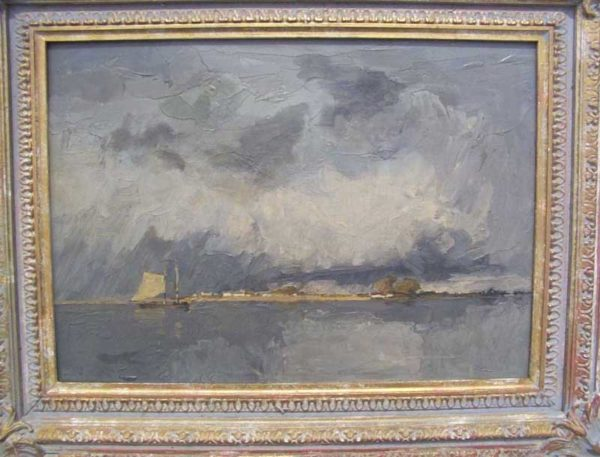 Original oil painting by Archibald Knox
