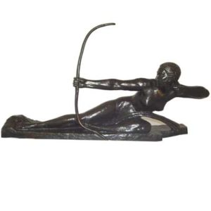 Penthiselia    Art Deco bronze by Marcel Bouraine (gm247)