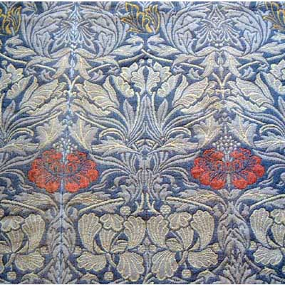 Tulip & Rose Arts & Crafts woven curtains by William Morris