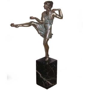 b46b - Art Deco Figure