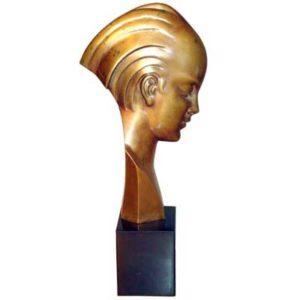 b72Ab - Art Deco Bust