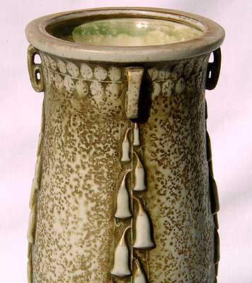 Art Nouveau  pottery vase by Paul Dachsel c1900 (c58)