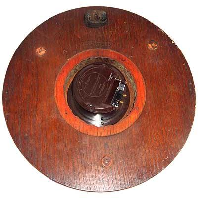 Arts & Crafts oak and brass wall clock for Heals (mi217) - Morgan ...